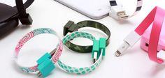 かわいさと使いやすさを兼ね備えたUSBケーブル、「Mohzy Loop」を紹介します。http://andronavi.com/2013/05/270149