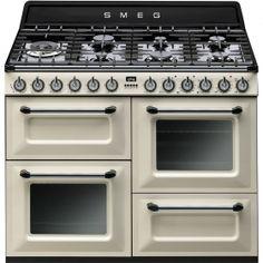 TR4110P1: Cocina Smeg fabricado en It�lia,se combina funcionalidad con alta calidad unido a un dise�o unico junto a la mejor tecnolog�a de vanguardia.  www.smeg.es