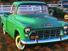 1955 Chevrolet Task Force Pickup Green