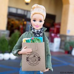 Final grocery run! Happy Thanksgiving to all!  #barbie #barbiestyle
