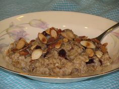 METABOLISM BOOSTING Cherry Almond Oatmeal #LoseWeightByEating #MetabolismBoosting