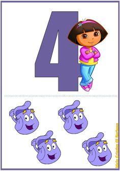 Numerais de Parede Dora Aventureira                                                                                                                                                                                 Mais