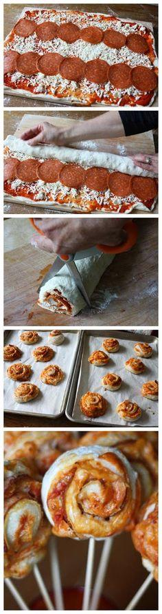 Pizza on a Stick Recipe