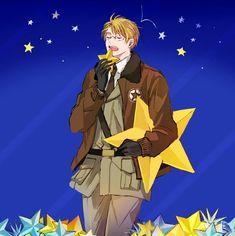 Alfred no. That's not food Alfred Jones, Hetalia America, Hetalia Characters, Blonde Boys, Usuk, Axis Powers, Bright Stars, Manga Games, Me Me Me Anime