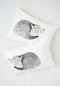Sly Rest My Case Pillow Sham Set - From the Home Decor Discovery Community at www.DecoandBloom.com