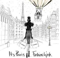 Foto: Paris Fashion Week kick's off today!