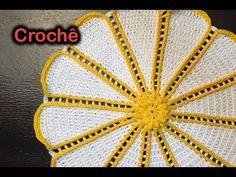Passo a passo Sousplat de Crochê | Anne Brilho | Professora Simone - YouTube