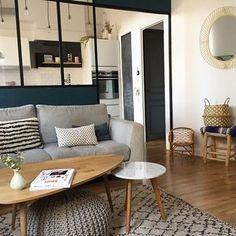 Salon - Decoration For Home Shared Rooms, Living Room Carpet, Trendy Home, Modern Design, Blueberry Home, New Homes, Decor Scandinave, Interior, Instagram