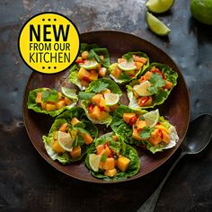 Ina Paarman | Home Fruit Recipes, Summer Recipes, Cooking Recipes, Lettuce Leaves, Fresh Coriander, Allrecipes, Curry, Lime, Salad Dressings
