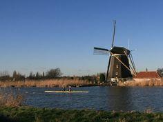 "Rotterdam - Hillegersberg: Windmill ""De Prinsenmolen"""