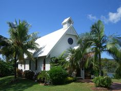 This little chapel on Hamilton Island. Overlooks the entire bay and out to the big blue ocean. Just perfect.