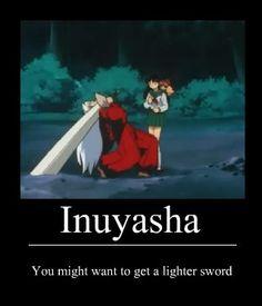 ah jeez, Inuyasha. Inuyasha Memes, Inuyasha Funny, Inuyasha Fan Art, Inuyasha And Sesshomaru, Kagome And Inuyasha, Anime Shows, Anime Manga, Fangirl, Hilarious