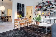 A stylist's apartment in Stockholm — Design Hunter