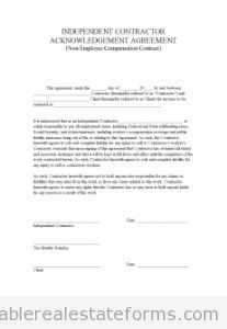 Construction Contract Template  Contractor Agreement  Template