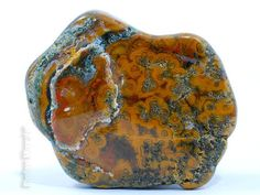 Tumbled Orpheus Agate Stone Orpheus Agate by RhodopeMinerals