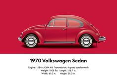 VW Beetle 1970 sedan