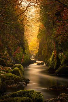 Fairy Glen Gorge, River Conwy | Destructive Pixels