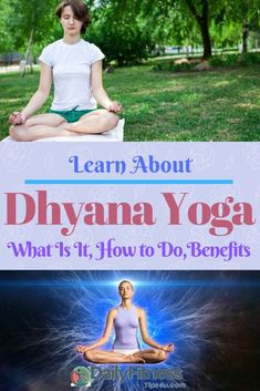 Dhyana refers to thoughts and meditations. Dhyana is added into the yoga asana, and it has given the meaning of samadhi and self-knowledge. Yoga Benefits, Health Benefits, Physical Fitness, Yoga Fitness, Respiration Yoga, Ways To Help Anxiety, Bhastrika Pranayama, Samadhi Yoga, Lotus Pose