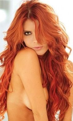 Fascinating Sexy Long Wavy Indian Remy Hair Lace Wigs Human Hair about 22 Inches Realize Your Beauty Dream Full Lace Front Wigs, Non Blondes, Gorgeous Redhead, Gorgeous Hair, Hottest Redheads, Redheads Hot, Redhead Girl, Fiery Redhead, Remy Hair