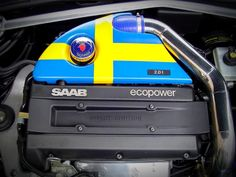 Swedish Love The Saab 2.0T EcoPower Engine