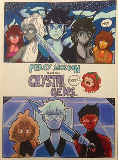 Percy Jackson and the Crystal Gems by PoorArtistGirl27