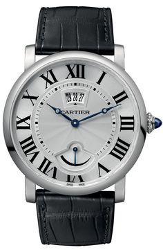 Cartier Rotonde Small Complication Watches Now In Steel   watch releases