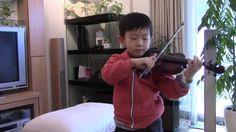 J.S.Bach - Bourree (Suzuki Violin 3-7); スズキ教本3巻の7曲目 まだ練習中です。 See more of this young violinist #from_HaruyasViolin