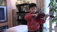 J.S.Bach - Bourree (Suzuki Violin 3-7); スズキ教本3巻の7曲目 まだ練習中です。 See more of this young violinist #from_HaruyasViolin