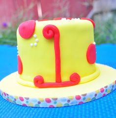 curious george smash cake