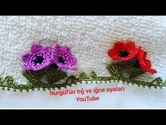 Beaded Flowers, Crochet Flowers, Crochet Lace, Beginner Crochet Projects, Crochet For Beginners, Baby Knitting Patterns, Crochet Patterns, Crochet Flower Tutorial, Tatting