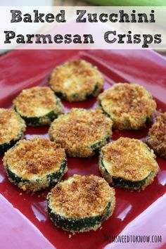 If you are looking for a healthy snack, try these baked zucchini Parmesan chips!  So easy to make and will satisfy your need for a crunch!
