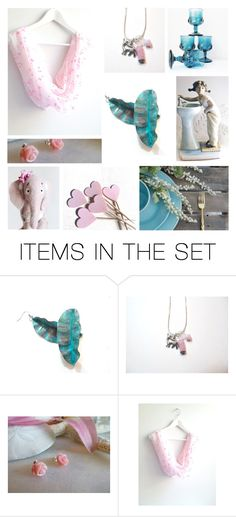 """""""Etsy Collage - Love"""" by rosa-shawls ❤ liked on Polyvore featuring art and vintage"""