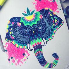... Pinterest | Elephant thigh tattoo Elephant head tattoo and Tatuajes