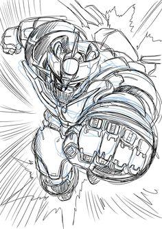 Mazinger Z sketch