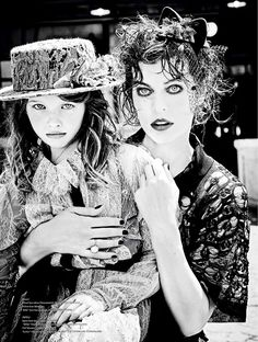 Actress Milla Jovovich joins her daughter Ever Gabo Jovovich-Anderson for the fall-winter 2016 cover story of Vs. Magazine. Photographed by Ellen Von Unwerth, the pair play immigrants who travel to New York City during the Great Depression looking for opportunity. Stylist Vibe Dabelsteen selects a retro inspired wardrobe for the spread including pieces from the …