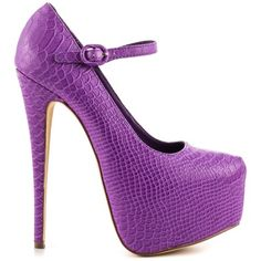 Monster High Shoes. Clawdeen Wolf. Loyalty - Purple by Penny Sue
