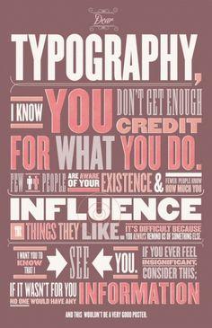 No me parece que la tipografía utilizada, en efecto, lleve muy bien el mensaje que quiere comunicar, pero me encanta el mensaje!