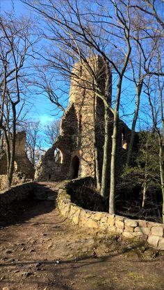Stary Książ,ruiny