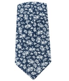 PERENNIAL FLORAL - NAVY | Ties, Bow Ties, and Pocket Squares | The Tie Bar