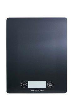 Smith + Nobel Kitchen Scale 5kg Black