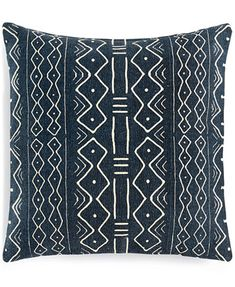"Image 1 of Lacourte Turkish Border Geo-Print 20"" Square Decorative Pillow"