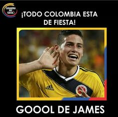 Colombia's James Rodriguez celebrates after scoring a goal during the 2014 World Cup Group C soccer match between Japan and Colombia at the Pantanal arena in Cuiaba June James Rodriguez Colombia, World Cup 2014, Fifa World Cup, Ramos Real Madrid, World Cup Groups, Image Foot, Work Hard In Silence, Winners And Losers, Transfer Window