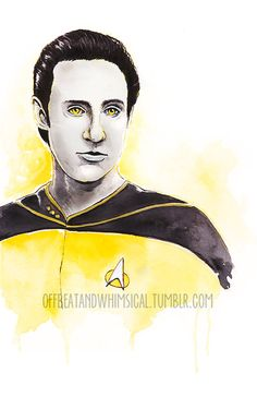 Commander Data by offbeatandwhimsical on Etsy