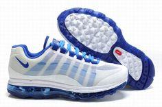 Nike Air Max 360 2011 Mens Shoes White Blue gb2Aa