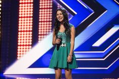 Caitlyn Shadbolt on The X Factor Australia 2014.