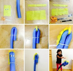 Horse Party, Cowboy Party, Horse Birthday, Farm Birthday, Pool Noodle Horse, Diy For Kids, Gifts For Kids, Anniversaire Cow-boy, Pool Noodle Crafts