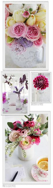 Flower Inspiration by decor8, via Flickr