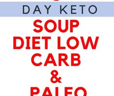 This 5 day keto soup diet is built around the deliciousTurbo Atkins Diet Soupthat I developed for Women's World magazine last summer. Designed for quick weight loss, this plan is easy to execute and doesn't require a lot of time in the kitchen – and who doesn't love that idea?! This highly effective 5 day […]
