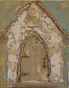 Art Acrylic church painting
