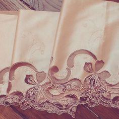 Beautiful #lace #rosepoudré #silk #lingerie